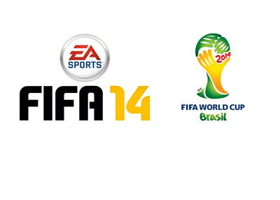 Electronic Arts - EA FIFA 14 - FIFA World Cup 2014 Brasil (Brazil) - Video Game - Logo