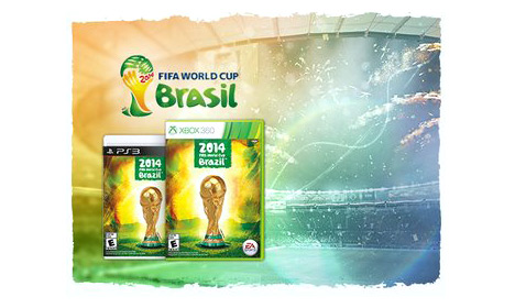 EA Sports 2014 FIFA World Cup video game screenshot