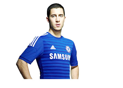 new style f486a 2335d Eden Hazard Given Chelsea #10 Shirt