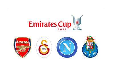 Tournament Logo - Emirates Cup 2013