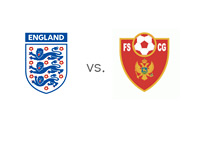 FIFA Match - England vs. Montenegro - Coat of Arm