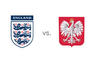 World Cup Qualifications - England vs. Poland - Team Crests