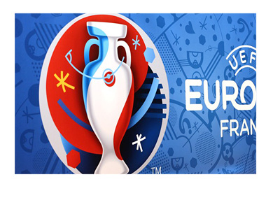 The EURO Cup 2016 logo on a wall