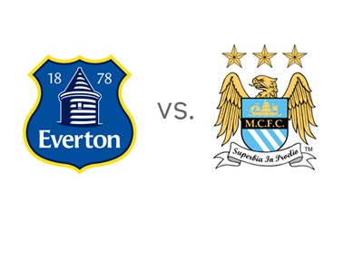 EPL Matchup - Head to Head - Everton vs. Manchester City - Team Logos / Badges