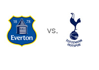 English Premier League Matchup - Everton vs. Tottenham - Team Logos