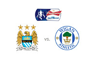 FA Cup Logo - Manchester City vs. Wigan - Matchup and Team Logos