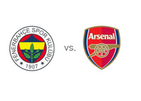 Fenerbahce vs. Arsenal matchup and team crests