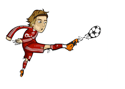 Fernando Torres Illustration - Liverpool FC - by Lumo