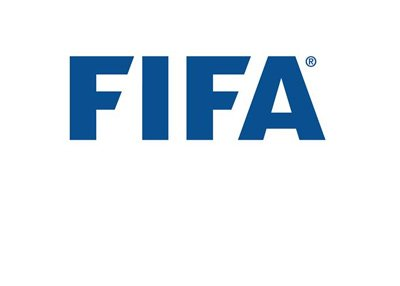 The FIFA logo. Year 2017.