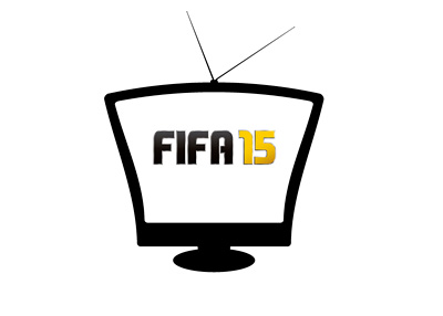 EA Sports FIFA 15 TV Commercial - Illustration / Concept / Vintage Television Set