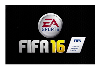 EA Sports FIFA 16 Logo - Black background