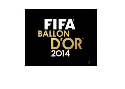 FIFA Ballon d'Or 2014 Award Logo - Black Background
