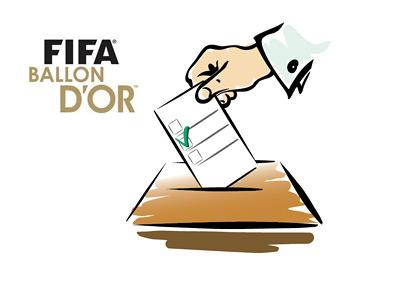FIFA Ballon d'Or 2013 - Vote Count - Illustration