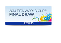 The FIFA World Cup Final - Draw Results - Brazil 2014