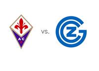 AC Fiorentina vs. Grasshoppers - Team Logos - Matchup