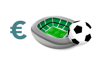 Football stadium gate receipts - Europe