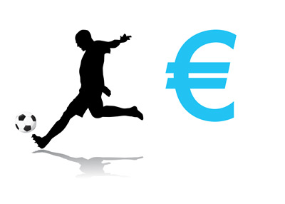 Football Transfers - Euro - Illustration