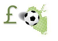The Football Transfer Season - British Pound - Illustration
