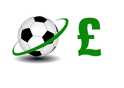 Football Transfers - British Pounds - Illustration