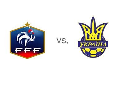 Game Preview - France vs. Ukraine - Team Logos
