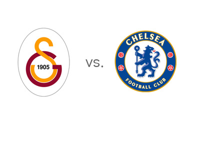UEFA Champions League Match - Galatasaray vs. Chelsea - Team Logos