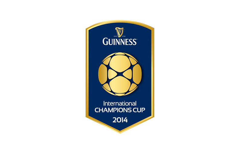 The 2014 Guinness International Champions Cup - Logo - Large Size