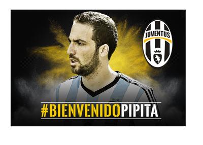 Juventus welcome Gonzalo Higuain - BienvenidoPipita
