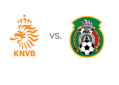 Netherlands vs. Mexico - Football Matchup - Team Logos - Odds - Head to Head