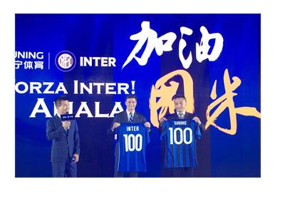 Suning Holdings co. buys Inter Milan