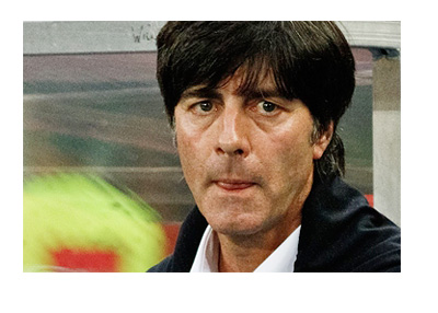 Germany coach Joachim Loew - at a game vs. Austria in 2013