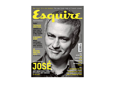 Jose Mourinho - Esquire Magazine Cover - March 2014