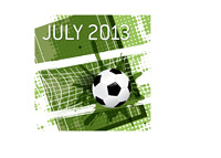 The July 2013 Football Matches - Illustration