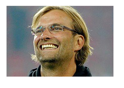 Jurgen Klopp - Big Smile - Twitter photo - Year 2015