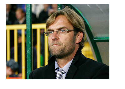 Jurgen Klopp - Thinking - BVB - Borussia Dortmund Football Club - On the Sidelines