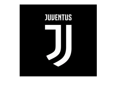 The new Juventus FC logo - Year is 2017.