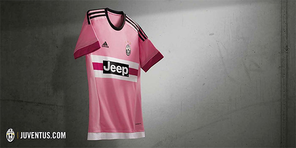 Juventus 2015/16 kit - Away shirt / jersey