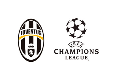 Juventus FC and UEFA Champions League logos - Year 2015