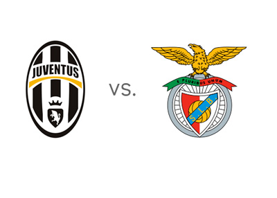 UEFA Europa League match - Juventus vs. Benfica - Team logos / crests / badges