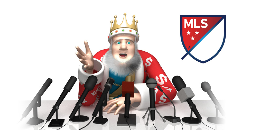 The King is going over the latest MLS Players Union salary report for year 2016