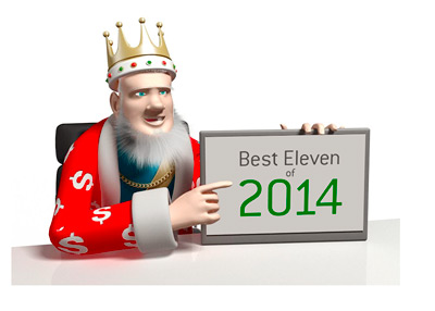 The King presents the Best Eleven of 2014 - The Team of the Year