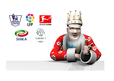 The King is reviewing the latest from the English Premier League, Italian Seria A, Spanish La Liga (Primera), Bundesliga and French Ligue 1