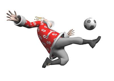 The King of Football Finance - Overhead Kick