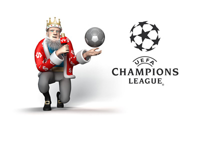 The King presents the UEFA 2016/17 Champions League revenue model