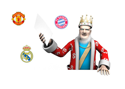 The King report on most valued brands in club football
