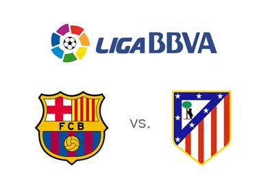 Barcelona vs. Atletico Madrid - La Liga BBVA - Matchup and odds