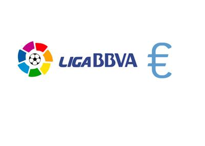 Spanish La Liga - Euro Currency - Salary Cap - Graphic - Logo