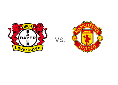 Matchup - Bayer 04 Leverkusen vs. Manchester United - Team Logos