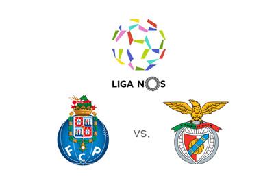 Portuguese Liga NOS - Matchup - FC Porto vs. Benfica - Season 2015/16 - Odds to win