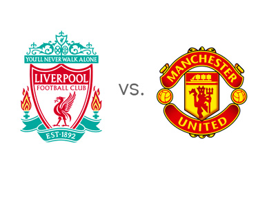 Liverpool FC vs. Manchester United FC - Preview - Game Odds - Head to Head - Team Logos / Badges / Crests