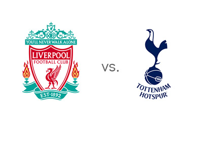 English Premier League matchup - Liverpool vs. Tottenham - Team Logos / Crests - Head to head